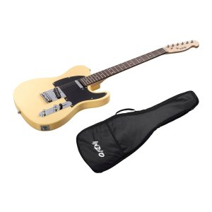 Indio by Monoprice Retro Classic Electric Guitar with Gig Bag