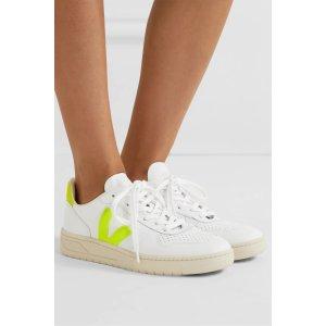 Veja相当于美金$68V-10 leather 平底鞋