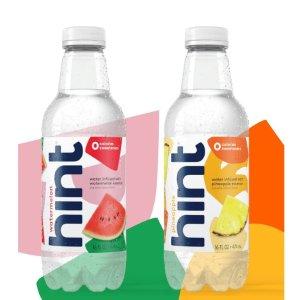 Hint Water 硅谷网红水果水自选口味3箱