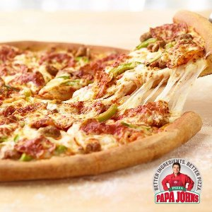$12Papa John's: Large 3 Topping Pizza + 8 Wings or 15 Chicken Poppers