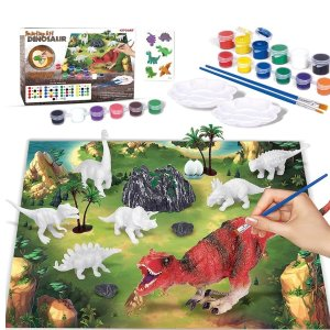 KITOART New Enlarged Dinosaur Painting Kit for Kids