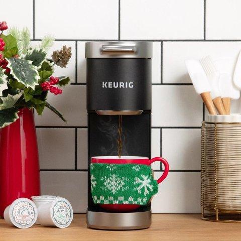 订阅套餐$0收封面 随时取消Keurig 买胶囊白送咖啡机 美好一天的开关 加送24颗胶囊