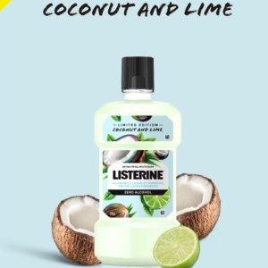 仅$7.49 有效祛除口腔细菌listerine 李施德林®限量版椰子和青柠漱口水