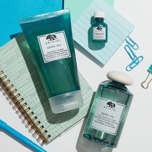 Dealmoon Exclusive! $20 off $45 with Zero Oil Collection+ free Drink Up Intensive Overnight mask @ Origins