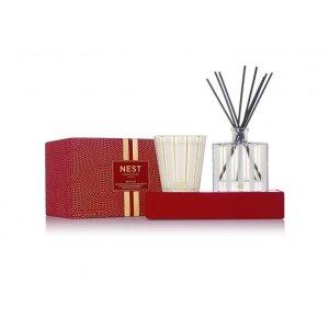 NEST FragrancesHoliday Classic Candle & Diffuser Set