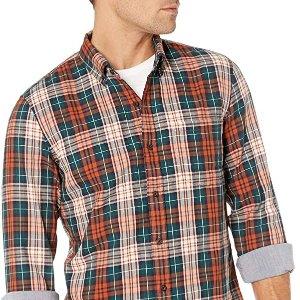 低至$8Goodthreads 男士纯棉休闲衬衫 多色可选