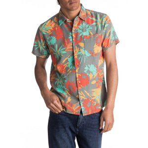 QuiksilverDesert Trip Camp Short Sleeve Shirt 花衬衣