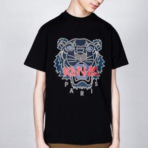 Kenzo 时尚热卖,虎头T恤$67,多色卫衣$146