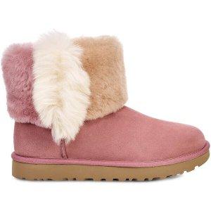UGG Australia三色毛毛雪地靴