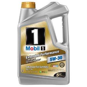 Mobil 15W-30 长效保护 全合成机油 5夸脱