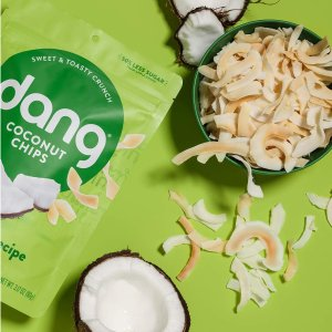 $3.54 + Free ShippingDang Toasted Coconut Chips Original  3.17 Oz