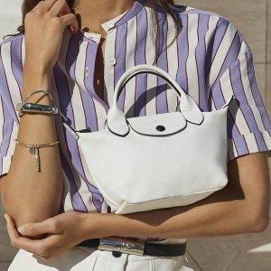 低至5.8折 £58起收简约购物袋Longchamp 超多经典款饺子包折扣热卖
