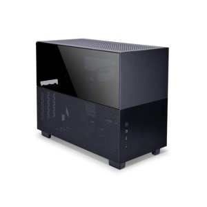 Lian Li运费$9.99Q58 Black Color SPCC / Aluminum / Tempered Glass 主机箱