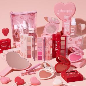 $8起上新:Colour Pop 情人节限定发售 甜甜爱心腮红收起来