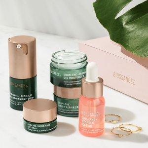 $49.3 (价值$116)Biossance 全明星护肤套装上市  美容大赏获奖小众品牌
