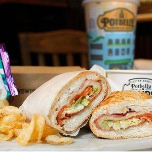 买一送一Potbelly Sandwich Shop 限时特价 Wreck Sandwich