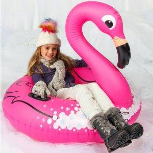 $6.24 (原价$24.99)BigMouth Inc. 火烈鸟造型充气Snow Tube