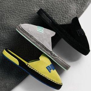 $49.99(原价$100) + 包邮Fenty 最新时尚麂皮渔夫鞋5折,男女同款