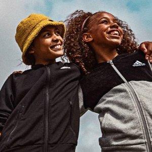 低至5折 $35收Stan Smith大童款adidas 精选儿童服饰、鞋履促销区特卖 成人可穿大童款
