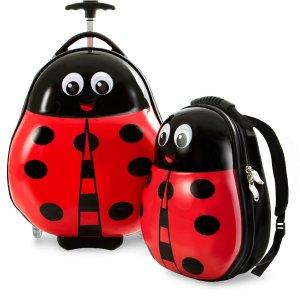 $13.99起多品牌儿童卡通主题行李箱促销 封面款Heys硬壳两件套史低$48.99收