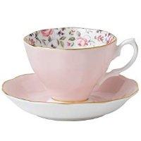 Royal Albert 碎花玫瑰骨瓷茶杯套装