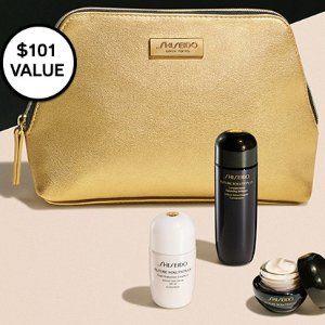 New! Future Solution LX 3-Piece + PouchWith your $150 purchase @ Shiseido