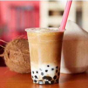 2杯大杯的任选奶茶仅€6.5Mealux Station柏林奶茶店竟然也有团购了