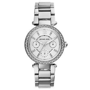 50% OffMichael Kors Women's Silvertone Mini Parker Watch