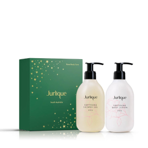 独家7.8折 仅€43收封面2件套上新:Jurlique 茱莉蔻 玫瑰护肤套组 身体乳+沐浴露300ml