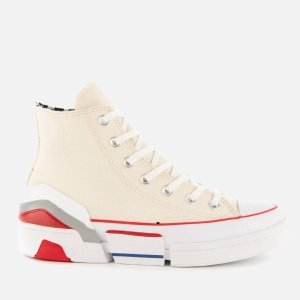 Converse厚底高邦帆布鞋