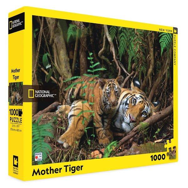Mother Tiger 拼图