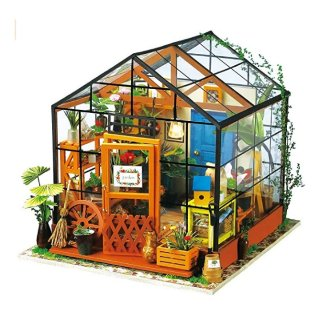 As low as $24.22Amazon ROBOTIME DIY Dollhouse Wooden Miniature Furniture Kit