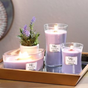 低至5.2折 €9.5收香甜蜂蜜香Woodwick 美式香薰蜡烛 薰衣草、木质香都有 居家馨香小治愈