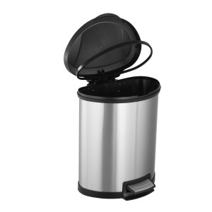$25 Mainstays 13 Gal / 50L Stainless Steel Trash Can