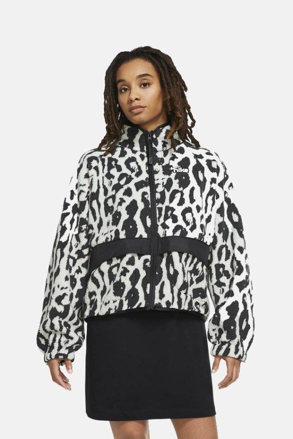 羊羔绒夹克