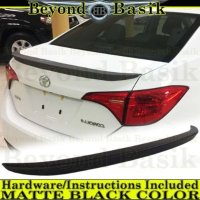 14-18 Toyota Corolla 原厂造型小尾翼 黑色