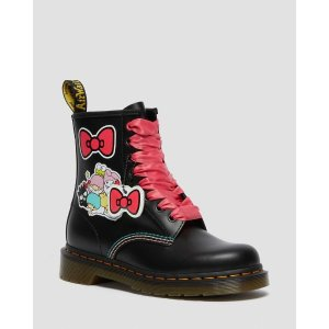 Dr. MartensDR MARTENS HELLO KITTY & FRIENDS 1460 SMOOTH LEATHER LACE UP BOOTS