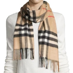 Up to $300 Gift CardExtended: Burberry Scarf Purchase @ Neiman Marcus