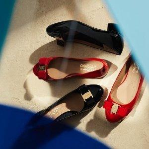 满额8折 £215收logo腰带Salvatore Ferragamo 菲拉格慕大促 收芭蕾鞋、经典腰带
