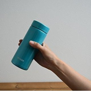 凑单到手¥98TIGER 轻量梦重力系列保温杯 350ml 水蓝色