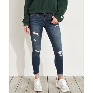 Hollister牛仔裤