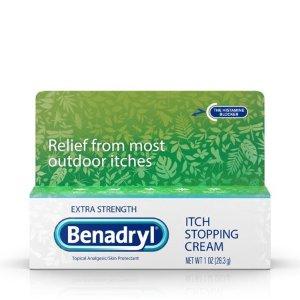 Benadryl 抗过敏止痒药膏, 1 oz