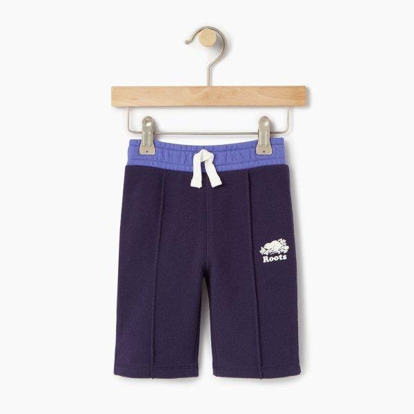 幼儿拼色运动裤