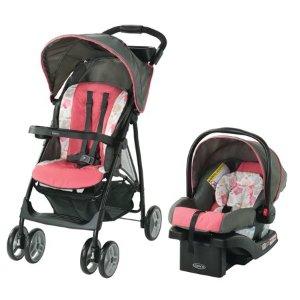 $99.99Graco LiteRider LX 超轻童车+婴儿汽车座椅套装