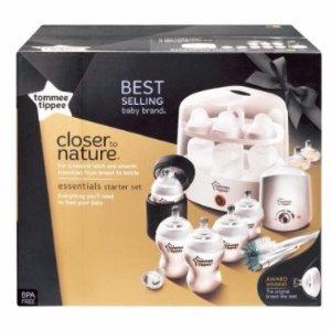 $139 (原价$250)黑白两款可选Tommee Tippee 宝宝奶瓶套装