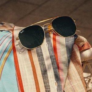 定价优势+7.5折Ray-Ban、Dior 等品牌墨镜促销 收王嘉尔同款飞行员眼镜