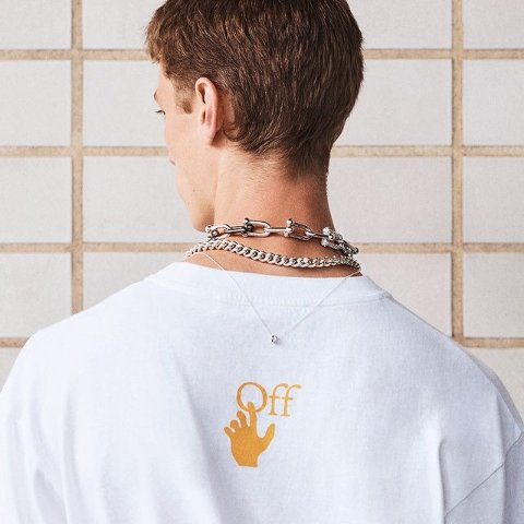 全场8.5折 彩虹腰带$318Off-White 不能再帅的潮牌 T恤卫衣、小白鞋全参与