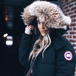 3倍返积分+免费两日送达Canada Goose 防寒夹克,羽绒服,羽绒背心等促销