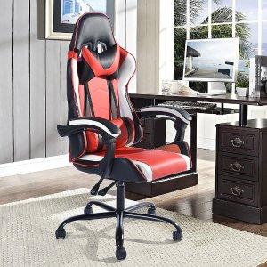 低至5折 可倾斜电竞椅$139起四款平价电竞椅 可调角度 躺着看剧更舒服