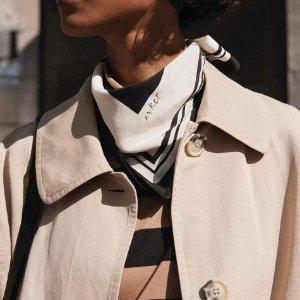 8.5折!£114收阔版风衣上新:Arket 设计感美衣秋季上新 北欧风简约设计派